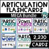 Articulation Flashcards Mega Bundle