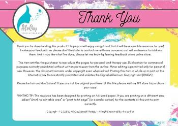 Articulation Flashcards for /L/ sound - Afrikaans
