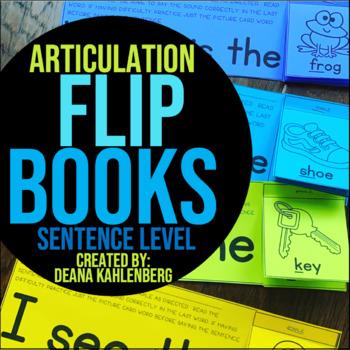 Articulation {Flip Books}
