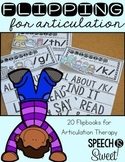 Articulation Flip Books for Speech Therapy