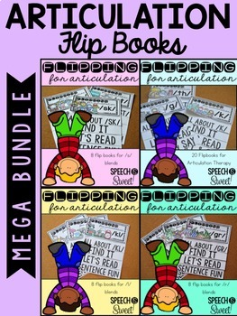 Articulation Flip Books Mega Bundle
