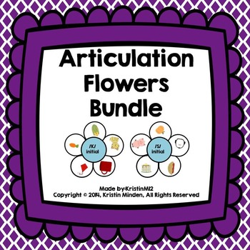 Articulation Flowers Bundle