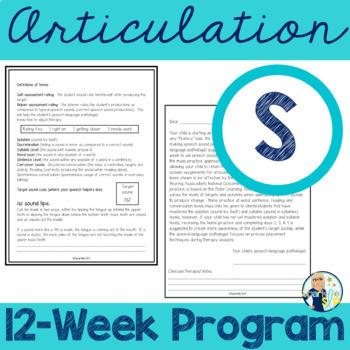 Articulation 12-Week Home Practice S