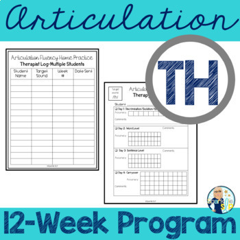Articulation Fluency Home Practice /th/