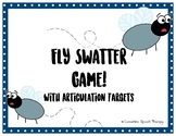 Articulation Fly Swatter Speech Therapy Game!