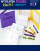 Articulation Foldable Wallet Craftivity- S, R, L, S-blends