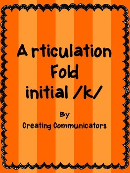 Articulation Folds - Initial /k/