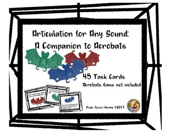 Articulation For Any Sound: A Companion to Acrobats Game
