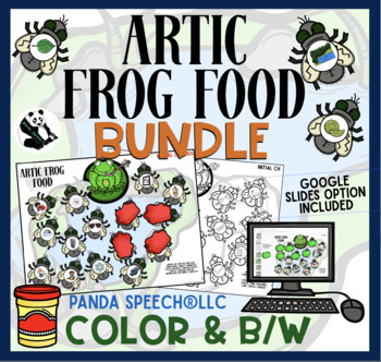 Articulation Frog Food: A Speech Therapy Activity: BUNDLE