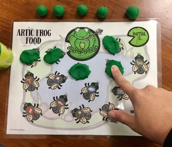 Articulation Frog Food: A Speech Therapy Activity: Later Sounds