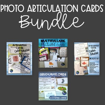 Articulation Cards Full Color Picture Cards GROWING BUNDLE