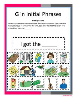 Articulation G Workbook