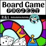 Articulation Game Board Project for R and L