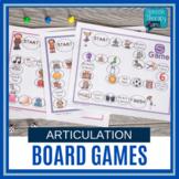 Articulation Board Games