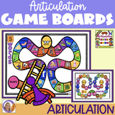 Distance Learning Articulation Game Boards for speech and