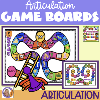 Articulation Game Boards
