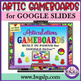 Articulation Game Boards for GOOGLE Drive with Moveable Pawns - Teletherapy