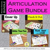 Articulation Game Bundle for Speech Therapy