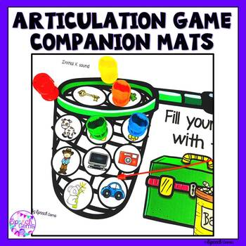 Articulation Game Companion (Initial and final sounds)