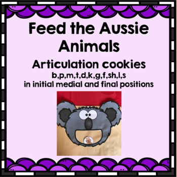 Articulation Game - Let's feed the Aussie Animals
