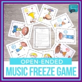 Articulation Game - Music Freeze