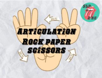 Articulation Game Rock Paper Scissors