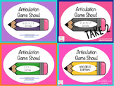 Articulation Game Show Bundle!