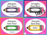 Articulation Game Show Bundle!