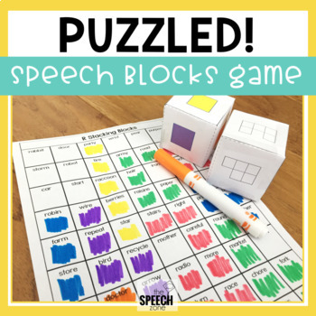 Articulation Game for Later Developing Sounds
