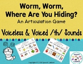 Articulation Game for Voiceless and Voiced /th/ sounds