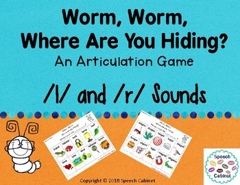 Articulation Game for /l/ and /r/ sounds