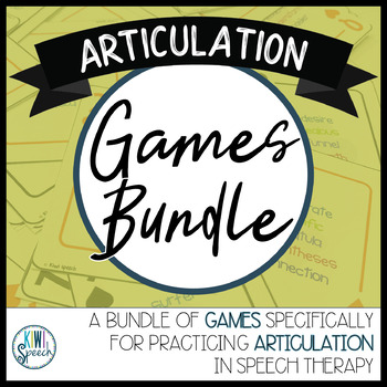 Articulation Games BUNDLE