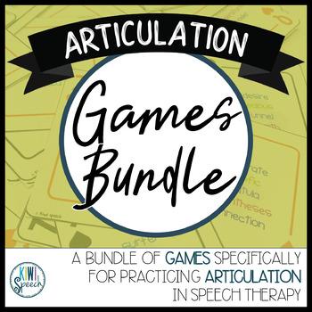 Articulation Games BUNDLE