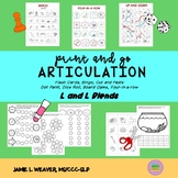 Articulation Games and Activities for L and L Blend