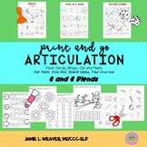 Articulation Activities Speech Therapy for S and S Blends