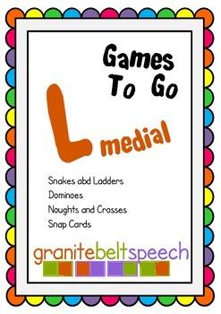 Articulation Games to Go - L Medial