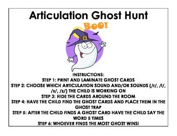 Articulation Ghost Hunt