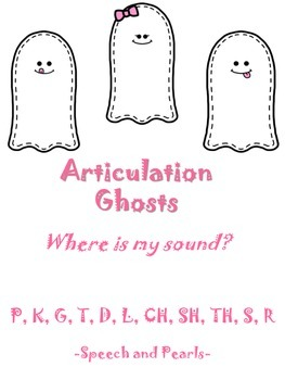 Articulation Ghosts Packet