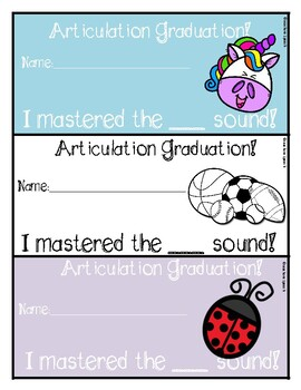 Articulation Graduation Certificates