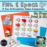 Articulation Growing Game Companion: Fish & Speak
