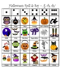 Articulation Halloween Roll & Say - (j, sh, ch)