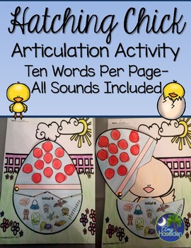 """""""Articulated"""" Hatching Chick Activity All Sounds Print/Go"""