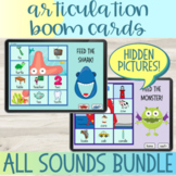 Hidden Pictures Articulation Boom Cards™ All Sounds Bundle