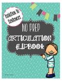 Articulation Hierarchy /S/ NO PREP Book