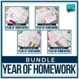 Speech Therapy Homework Flip Book Bundle - Articulation