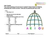 Articulation Homework Packet { s, s-blends, sh }