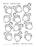 Articulation Practice Sheet - Acorns