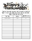 Articulation Homework Using Halloween Candy