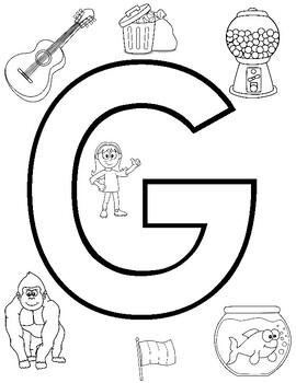 Articulation Homework /g/ Speech Therapy