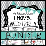 Articulation I Have Who Has Game: All Sound BUNDLE